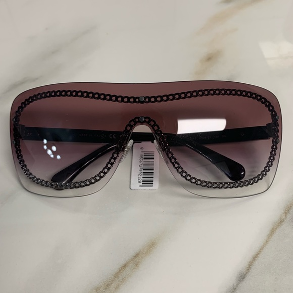 Chanel Accessories New Shield Sunglasses Spring 2019 Poshmark